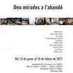"""Exposición """"Deu mirades a l'abandó"""" en el Centre Cultural La Misericòrdia."""