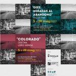 """Exposición """"Diez miradas al abandono"""" en Imaginària – Fotografía en primavera 2017."""