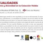 """Exposición """"Sexualidades. Erotismo y diversidad en la Colección Visible"""" en Mulafest 2017."""